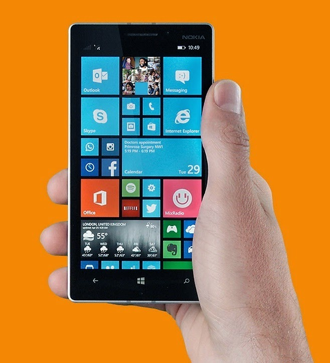 Microsoft Lumia 940, Smartphone Windows Phone 10 Spesifikasi Memukau