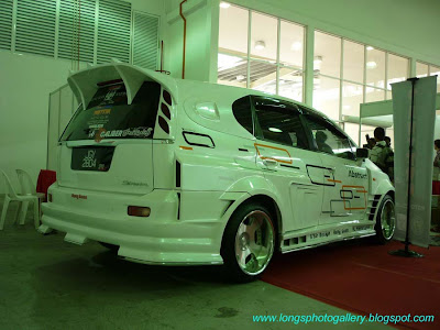 Honda Stream Wide Body Kit