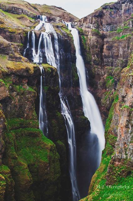 Wodospad Glymur