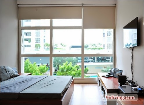 Nice view of bedroom in The Estella apartment