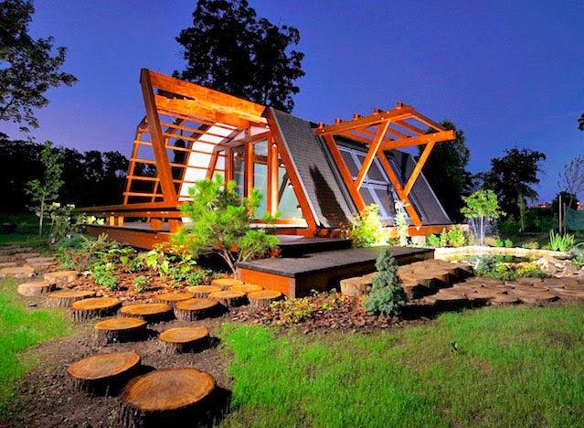 Casas ecologicas la soleta zeroenergy one una casa ecol gica de muy poco consumo energ tico - Viviendas ecologicas prefabricadas ...