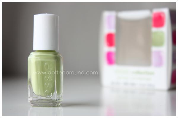Essie Spring 2012 Navigate Her nail polish pastel green