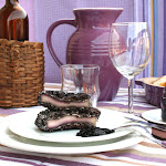 Formaggette in Raspi di sambuco con Marmellata di Sambuco, Milele e Grani di Senape
