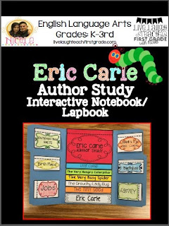 https://www.teacherspayteachers.com/Product/Eric-Carle-Author-Study-Interactive-Notebook-Flapbook-1857324