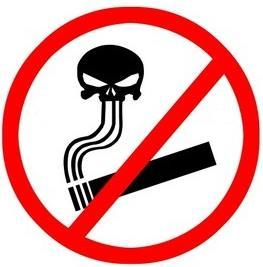 No fumar en la Rosaleda Vietato+fumare