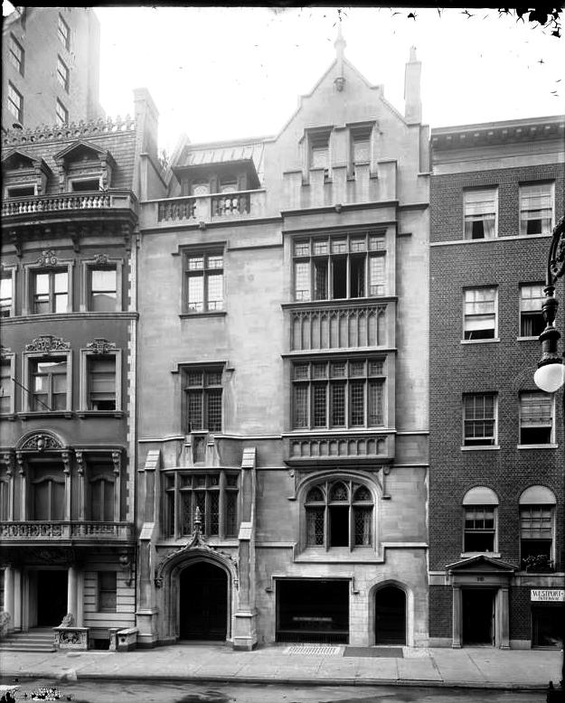 Daytonian In Manhattan The Fisk Harkness House No 12
