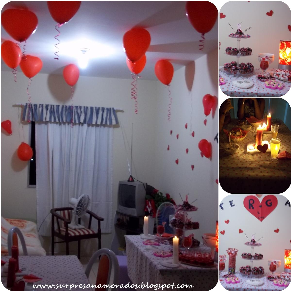 Noite do Dia dos Namorados da Iara e do Rafael luminárias e