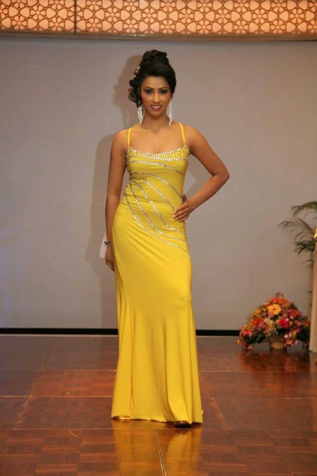 Ms. Lanka 2013 beauty page pageant conducted by Mrs. Gwendaline Kuhathewa
