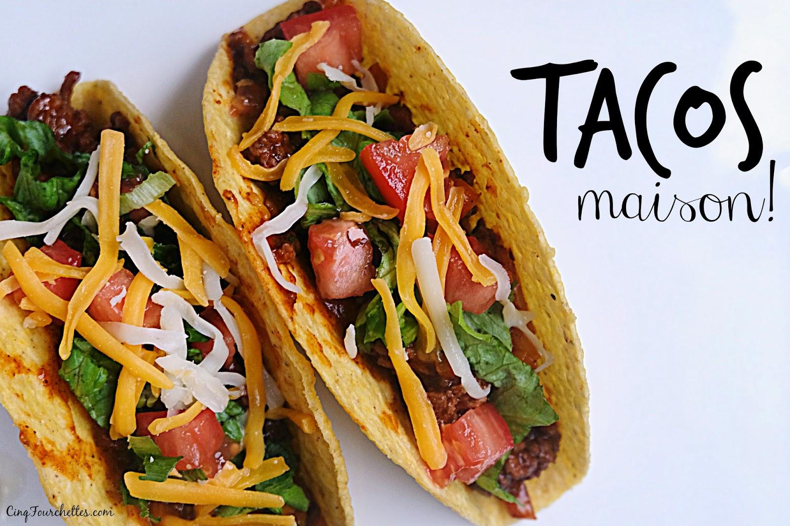 Tacosaupif for Assaisonnement tacos maison