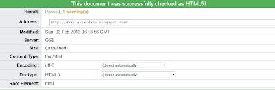 Membuat Template Blog Valid Html 5 Terbaru 2013
