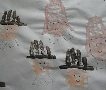 Preschool crafts for kids thanksgiving handprint for Pre k turkey crafts
