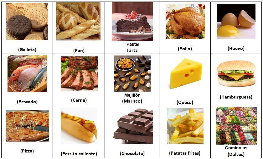 Vocabulario de comida en ingl s imagui - Alimentos en ingles vocabulario ...