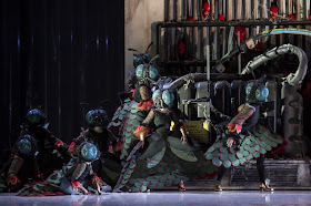 Hippolyte et Aricie (Act II, Hades) at Glyndebourne, (c) Bill Cooper