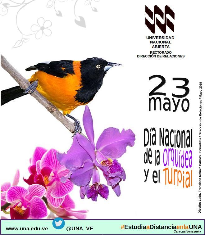 Dia Nacional de la Orquidea y el Turpial
