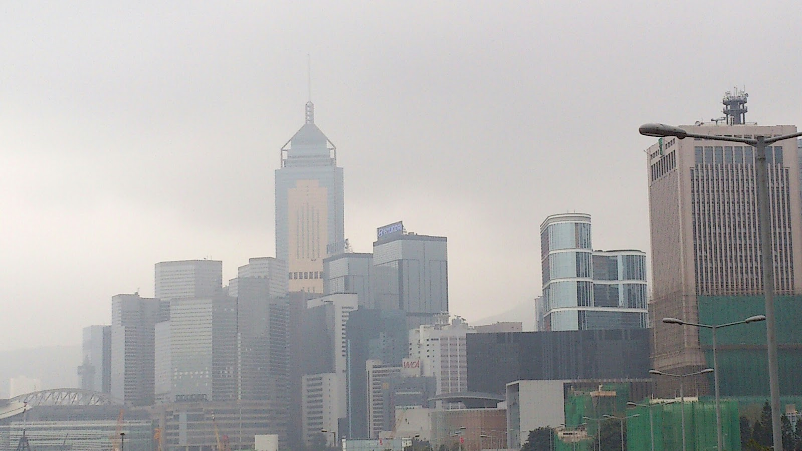 Hong KOng Skyscrapers view