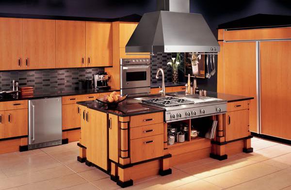 Modele cuisine grand espace