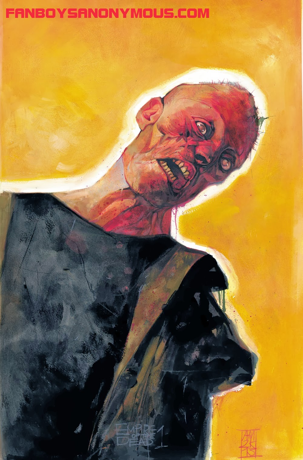 George Romero Marvel vampire zombie miniseries Empire of the Dead