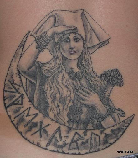 Neo Polytheist Germanic Pagan Tattoos Vikings Tattoos - 441×504