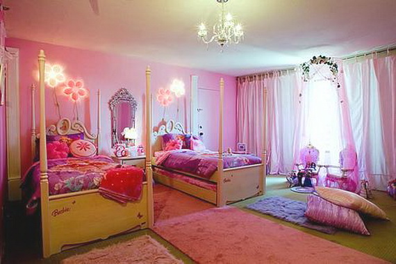 Sabaia styles girls bedroom decorating ideas for Bedroom ideas for girls