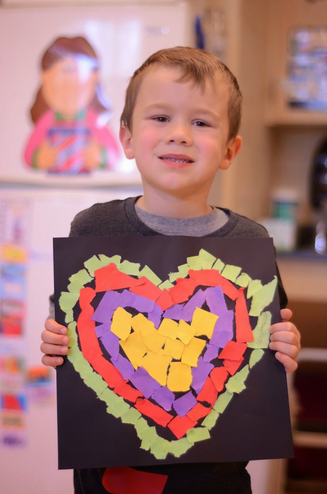 A Place Called Kindergarten: You don't want to miss this simple Valentine craft for kids. This Valentine craft idea is easy enough to do tomorrow.