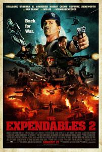 Poster original de Los mercenarios 2