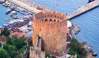 red tower, Kızılkule