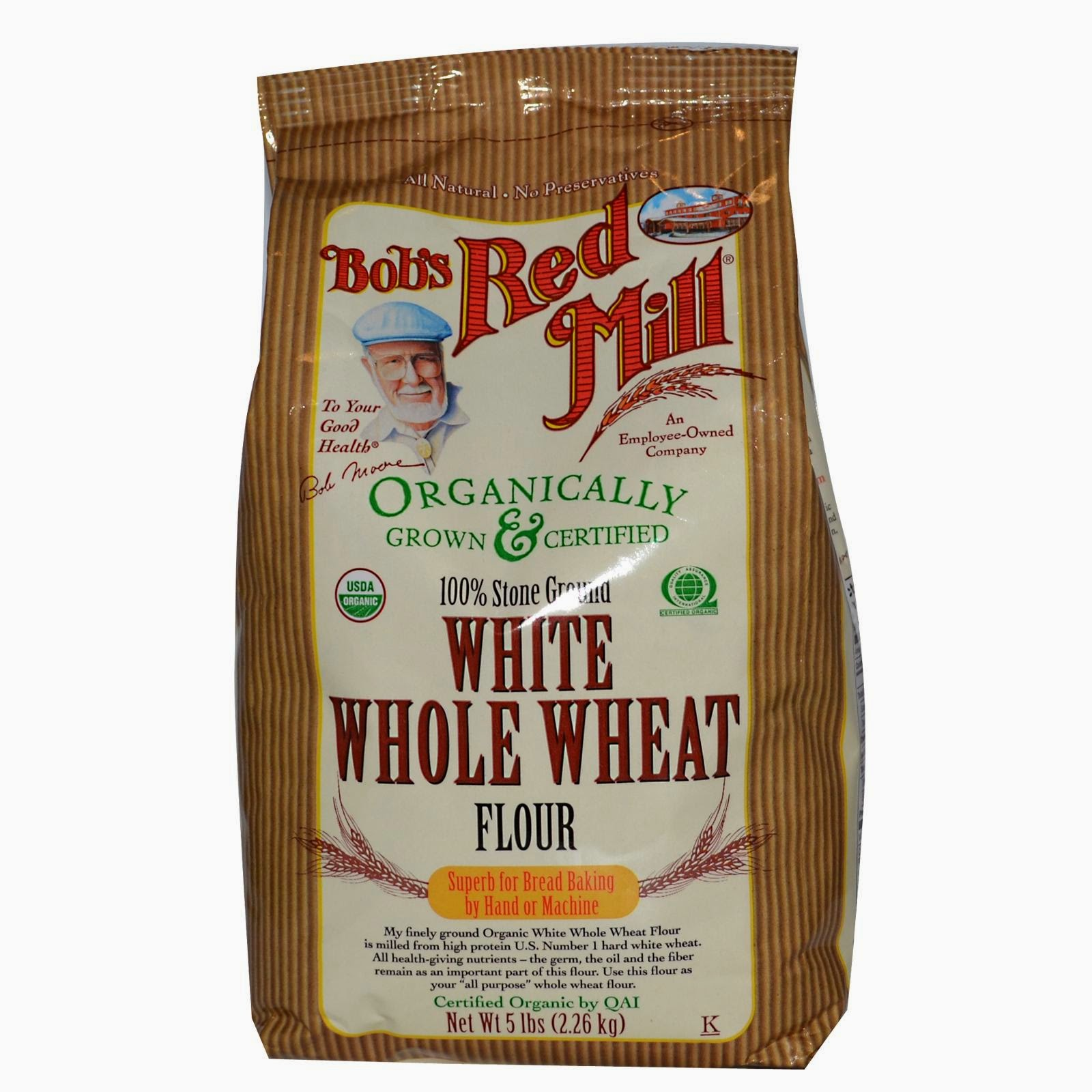 Whole Wheat Flour For The Whole Wheat Pizza Recipe