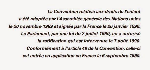 Convention Internationale des Droits de l'Enfant
