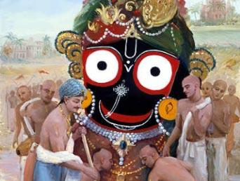 Gebed aan Heer Jagannātha, Jagannātha-svāmī nayana paṭhagami bhavatu me