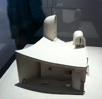 Maquette Ronchamp Corbusier 1950-55