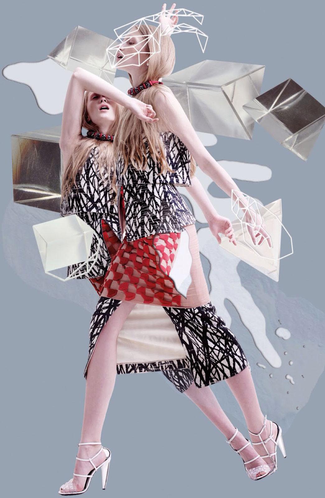 Karolina Sikorska in Out of imagination | Vogue Thailand May 2014 (photography: Nat Prakobsantisuk, styling: Jirat Subpisankul)