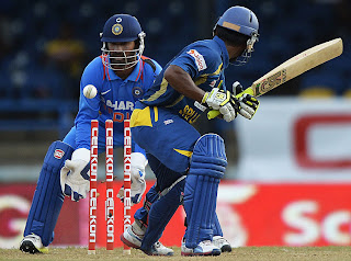Jeevan-Mendis-Bowled-India-vs-Srilanka-Tri-Series-2013