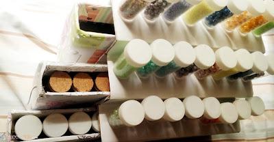 An organized craft area
