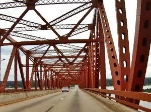 Mathews Bridge Sehenswerte Brücken in Jacksonville