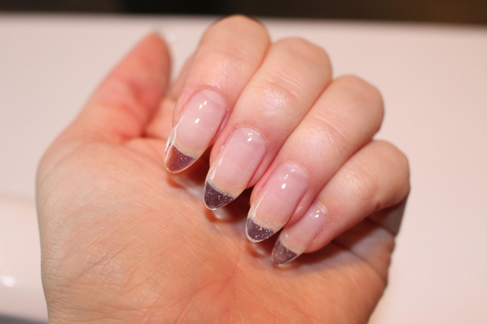 Semilac Hard żelowe paznokcie fake nails polish lakier UV gdzie kupić jak zrobić diamond cosmetics Poznań poland long plastic instagram hola paola