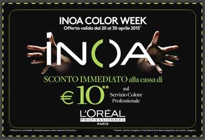 Inoa Color Week coupon