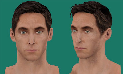 NBA 2K13 Steve Nash New Hair Cyberface NBA2K Patch