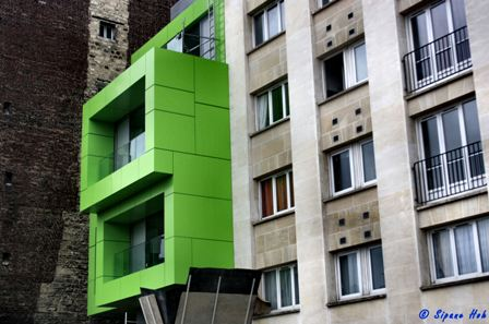 Details de l architecture contemporaine paris for Architecture contemporaine paris