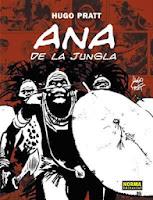 Ana de la Jungla,Hugo Pratt,Norma Editorial  tienda de comics en México distrito federal, venta de comics en México df