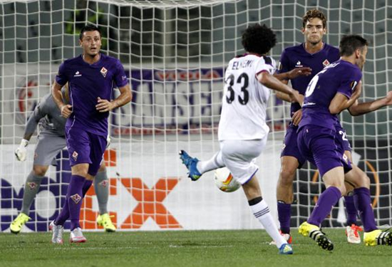 Fiorentina 1 x 2 Basel - Europa League 2015/16
