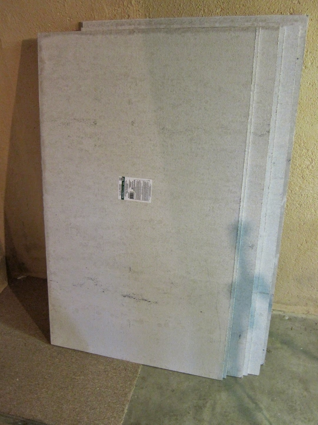 home depot concrete board, shower, tile