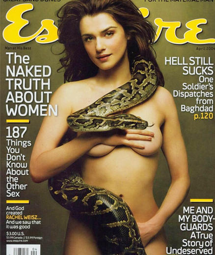 nude covers,nude actress,girls with snake,nude girls with snake