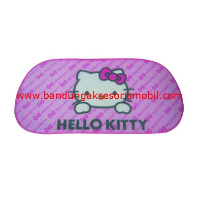 Penutup Kaca Hello Kitty Pink
