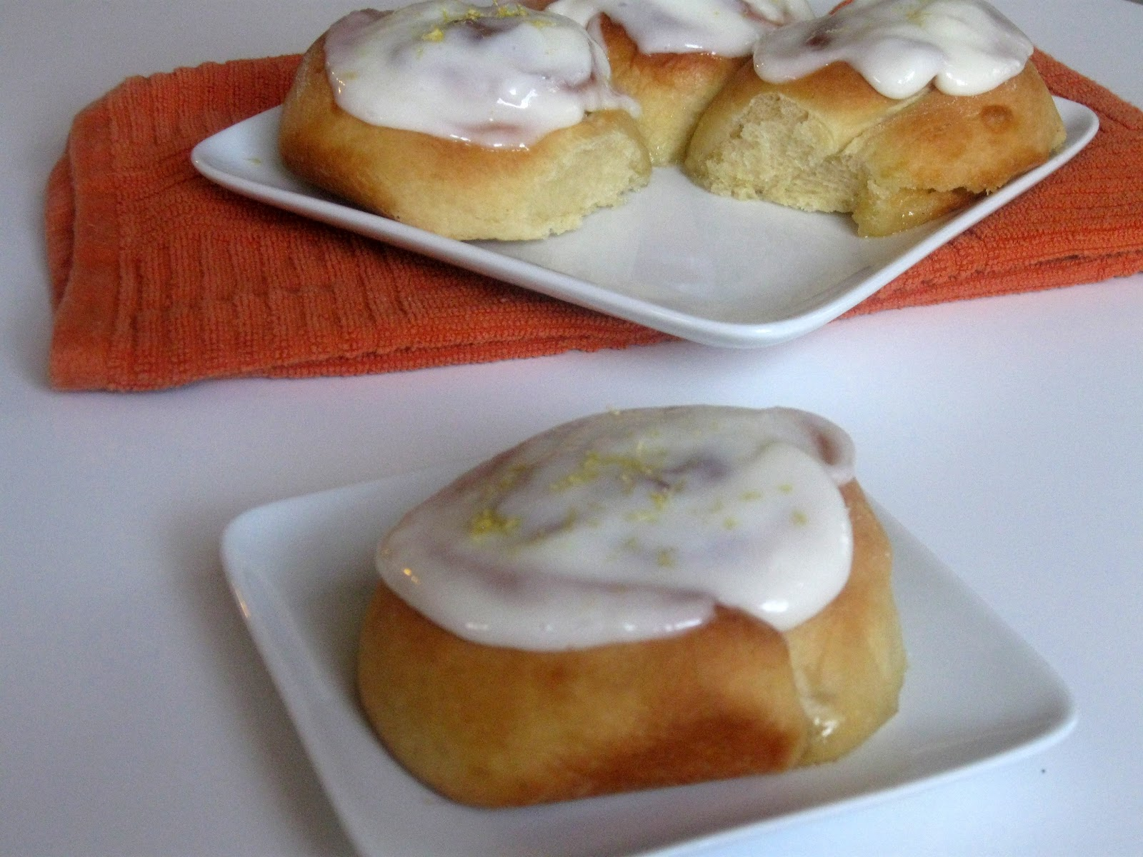 Lemon Sticky Rolls with Cream Cheese Icing | Searching for ...
