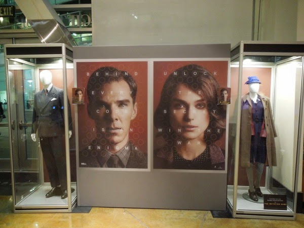 The Imitation Game movie costume exhibit