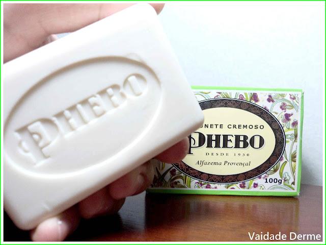 Sabonete Alfazema da Phebo