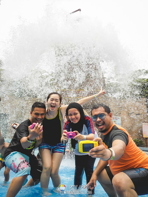 Media and blogger photography hangout at Sunway Lagoon