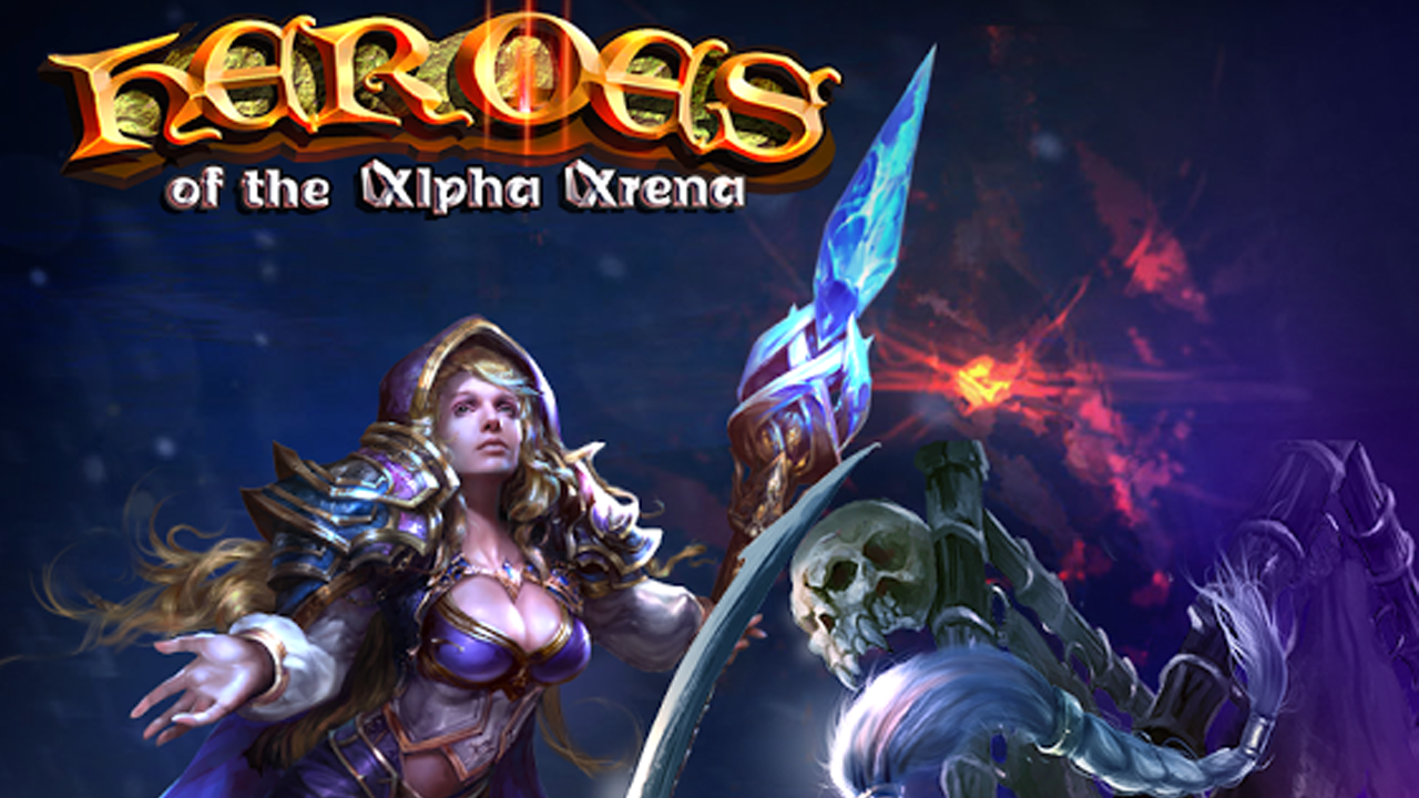 Heroes of the Alpha Arena Gameplay IOS / Android