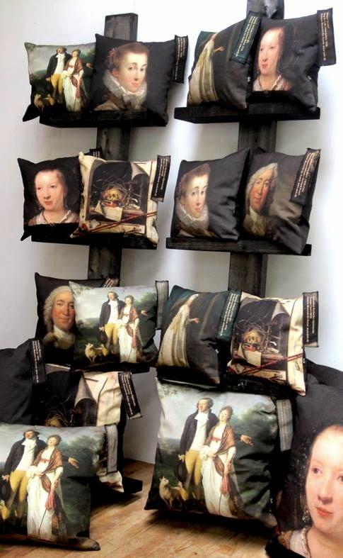 Puder med Renæssance motiver fra SMK_B&M Images - SHop puder i herregårdstil online hos Bæk & Kvist