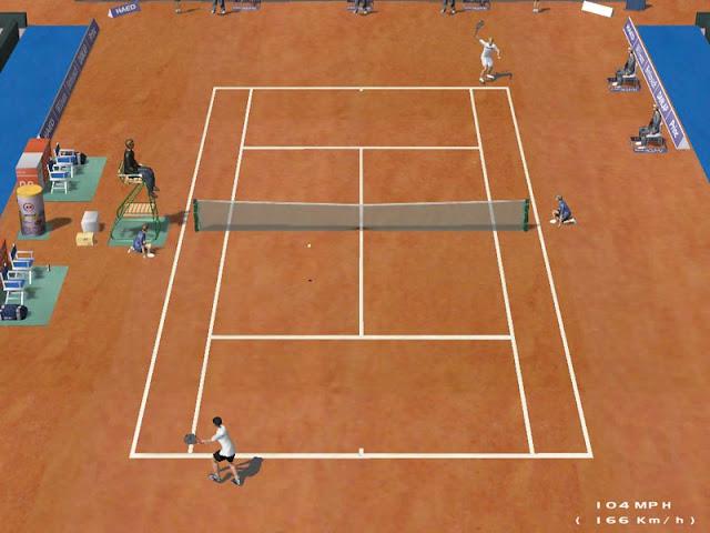 لعبة التنس العالمية Dream Match Tennis